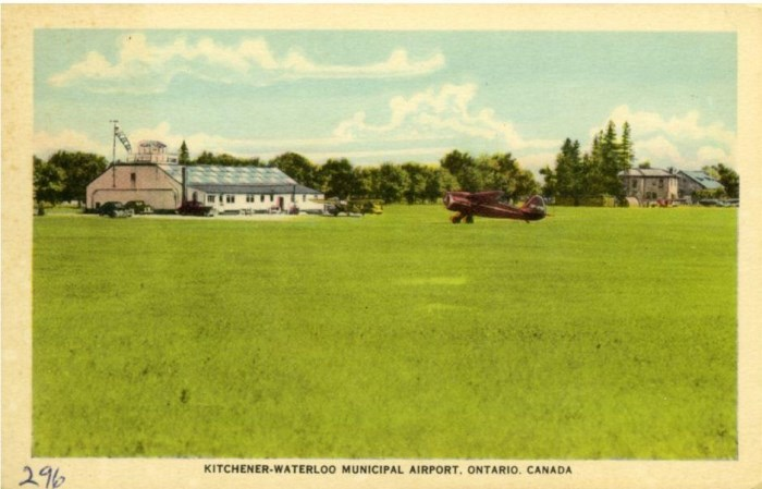 1940's Lexington Field Post Card