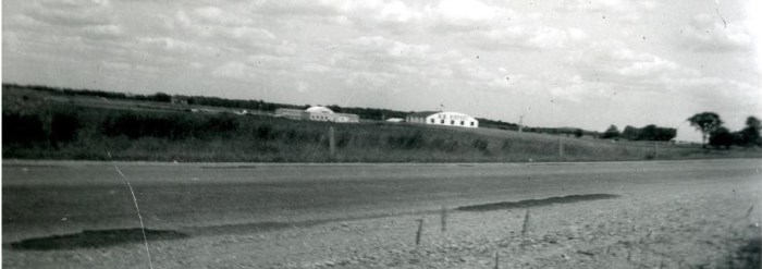 1961 - First hangar built