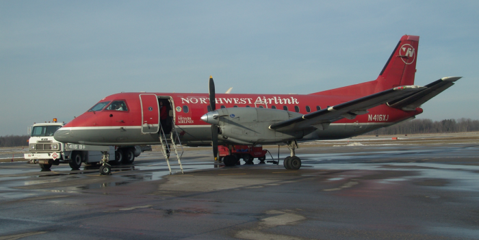 2004 Northwest Airlines Detroit service