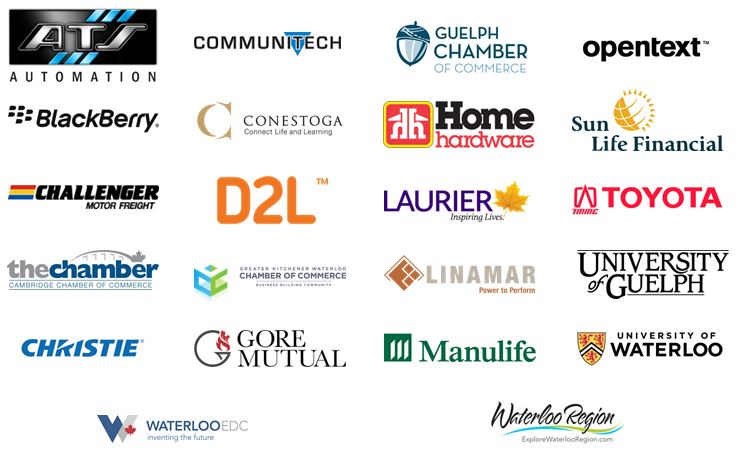 Logos of Waterloo Region Businesses